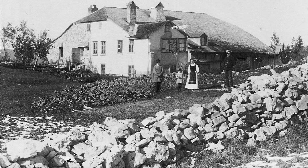 Les-Mollards-des-Aubert en 1917